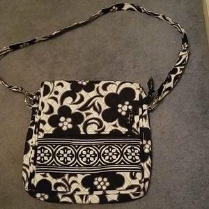 Vera Bradly floral crossbody purse